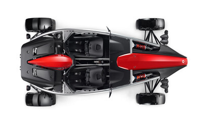 Ariel Atom - Top down view