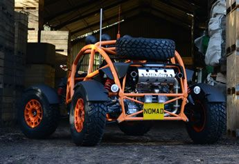Ariel Nomad - Rear Quarter